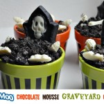 TruMoo‏ Chocolate Mousse Graveyard Cakes