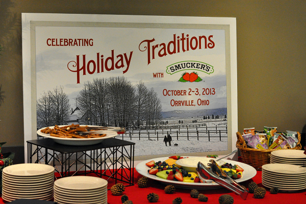 smuckers #holidaytips event