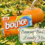 Bouncing Back From Laundry Mishaps #BounceBack
