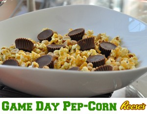 game day pep corn