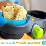 On the Go Snacks for Toddlers: Toddler Crackers Recipe