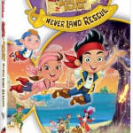 Jake and the Never Land Pirates: Never Land Rescue Now on DVD