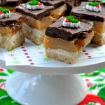 Holiday Recipes – Shortbread Chocolate Toffee Bars