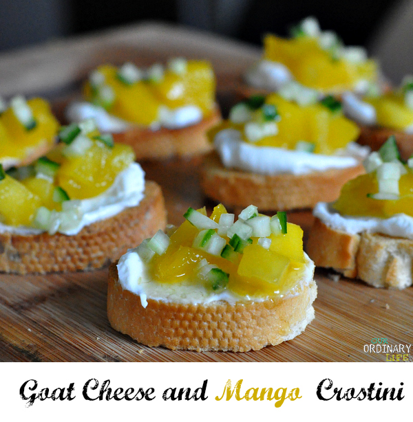 mango crostini recipe