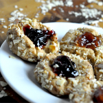 Jif® Almond Butter Thumbprint Cookies Recipe