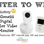 The Safety 1st Genesis Digital Color Video Monitor – #Safety1st Giveaway