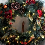 Holiday Decor – Venetian Elegance Christmas Wreath