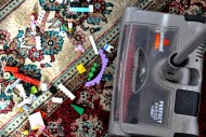 Avoid Stepping On LEGO'S This Holiday - BISSELL Perfect Sweep Turbo