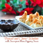 Easy Holiday Entertaining – Broccoli and Cheese Wantons