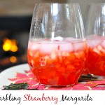 Get The Holiday Party Started – Sauza® Tequila Sparkling Strawberry Margarita