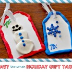 Crayola Holiday Crafts: Snowmen Gift Tags – Crayola Gift Pack Giveaway