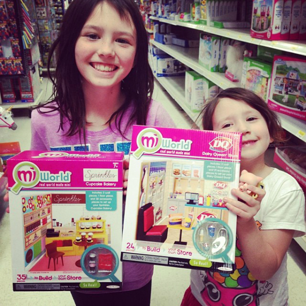 Hot New Toys For Girls -  miWorld Playsets From JAKKS Pacific