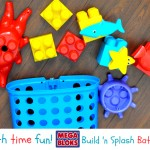 Mega Bloks Build 'n Splash Bath Toy – Giveaway