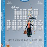 Disney's Mary Poppin's 50th Anniversary Edition on Blu-Ray & DVD