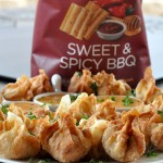 SunChips® Sweet & Spicy BBQ Chicken Wantons Recipe
