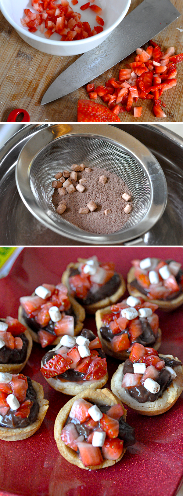 TruMoo Chocolate Marshmallow Mousse Tarts (3)