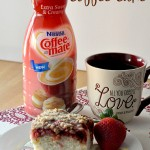 Coffee-mate: Extra Sweet & Creamy Strawberry Coffee Cake
