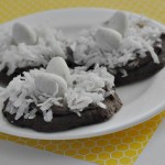 Dunkin' Donuts Inspired Chocolate Coconut Coffee Nest Cookies