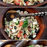 Mediterranean Salad with Seasonal Vegetables Recipe