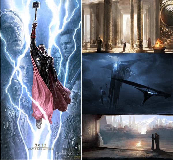Thor The Dark World Concept Art
