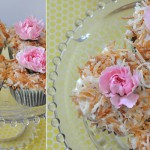 Silk Coconut Carrot Cake Cupcakes