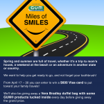 Sunstar GUM Miles of Smiles – Giveaway