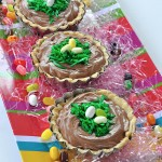 Easter Recipe – Hazelnut Chocolate Mousse Nest Pies