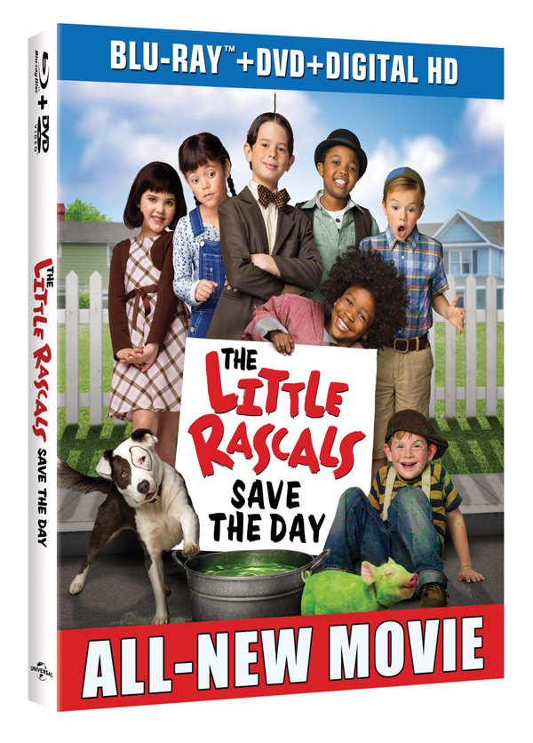 LIttle Rascals Save The Day BluRay