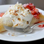 Mother's Day Brunch Recipe – Strawberry Coconut Cream Pastries