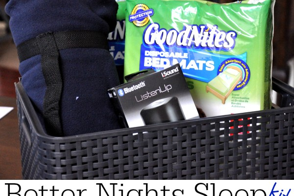 Better Nights Sleep With GoodNites®