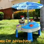 Summer Fun With Step2 – High Seas Adventure Sand & Water Table with Umbrella™
