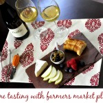 Date Night With Cambria Estate Winery® & Farmers Market Tasting Plate