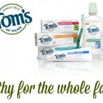 Excited To Partner With Tom's of Maine