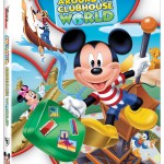MICKEY MOUSE CLUBHOUSE: AROUND THE CLUBHOUSE WORLD on Disney DVD