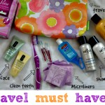 Summer Travel Packing With Poise Microliners