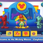"Squish and Sculpt with New ""Squish: Mickey Mouse Clubhouse"" App"