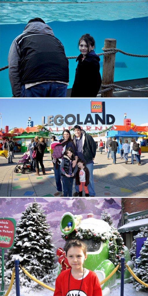 Kids at Sea World, Legoland, And Universal Studios