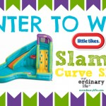 Little Tikes Slam 'n Curve Slide – Giveaway