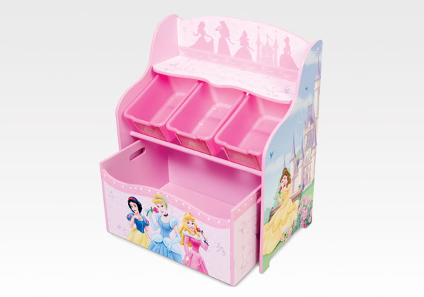princess disney multibin organzier