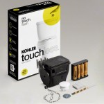 Kohler Touchless Toilet Flush Kit & Nighlight Toilet Seat Upgrades