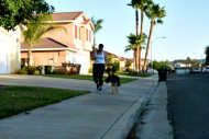 running with bruno
