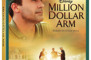 DISNEY'S MILLION DOLLAR ARM     Based on an Inspirational True Story     On Disney Blu-ray™, Digital HD,  Disney Movies Anywhere, DVD & On-Demand Oct. 7, 2014!