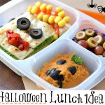 Easy Halloween Lunch Idea With Black California Olives