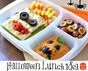 Early California Olives Kids Halloween Lunch