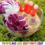 Halloween Recipe – Silk® Potato and Leek Body Parts Soup