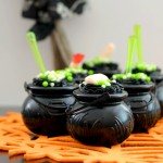 TruMoo Orange Scream Witch Cauldron Pudding Cups