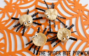 popchips sea salt Halloween Spider bite popwich snacks recipe  (10)