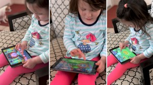 Disney Imagicademy Mickeys Math app toddler playing (2)
