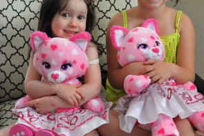 Buildabear valentines day bear kids