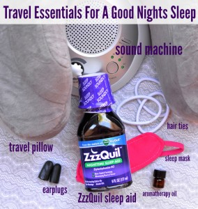 ZzzQuil Nighttime Sleepaid Travel Essentials For Sleep
